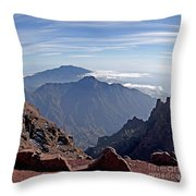 Caldera De Taburiente-1 Throw Pillow