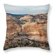 Calf Creek Canyon Grand Staircase Escalante Utah Throw Pillow