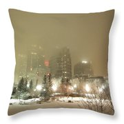 Calgary Alberta 2 Throw Pillow