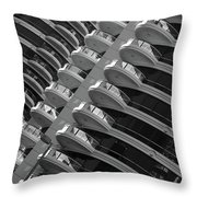Calgary Condo Highr1se Throw Pillow