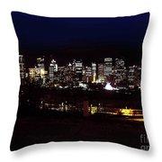 Calgary Skyline 2016 Throw Pillow