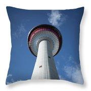 Calgary Tower Throw Pillow
