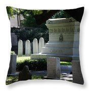 Calhoun Is A Big Name In Charleston Throw Pillow