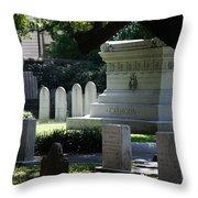 Calhoun Is A Big Name In Charleston Throw Pillow