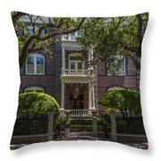 Calhoun Mansion Throw Pillow