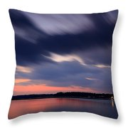 Calibogue Sound After Dark Throw Pillow