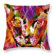 Calico Cat Throw Pillow