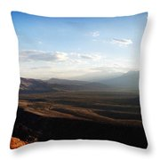 Calico Tanks Throw Pillow