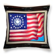 California 31st State. Superstar  Throw Pillow
