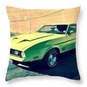 California Boy Dreams Throw Pillow
