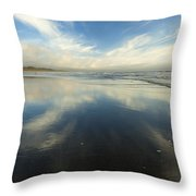 California Cirrus Explosion Throw Pillow