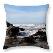 California Coast 11 Throw Pillow