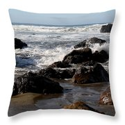 California Coast 12 Throw Pillow