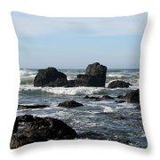 California Coast 13 Throw Pillow