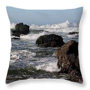 California Coast 18 Throw Pillow