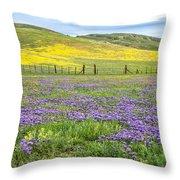 California Country Throw Pillow