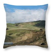 California Countryside Photograph Throw Pillow
