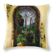 California Dreamin Throw Pillow