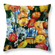 California Dreamz Throw Pillow