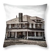 California Farm House Throw Pillow