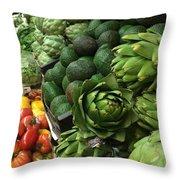 California Fresh Throw Pillow