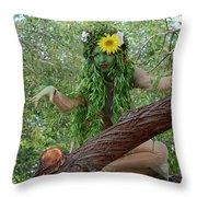 California Girl Throw Pillow