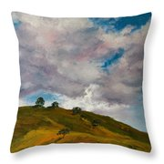 California Hills Throw Pillow