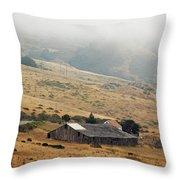 California Homestead - Rural Scene Throw Pillow