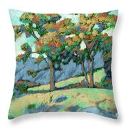 California Landscape Throw Pillow