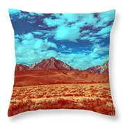 California Postcards One Throw Pillow