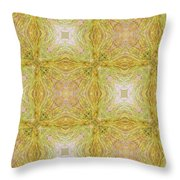 California Spring Oscillation Pattern Throw Pillow