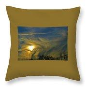 California's Sunrise Throw Pillow
