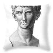 Caligula (12-41 A.d.) Throw Pillow