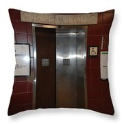 Call Bruce Johnson Throw Pillow