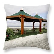 Call For A Picnic. Throw Pillow