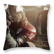 Call Of Duty Infinite Warfare Throw Pillow