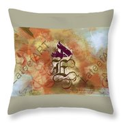 Call Of The Soul  Throw Pillow