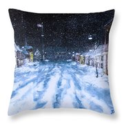 Call Out The Plows Throw Pillow