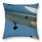 Call Sign Throw Pillow
