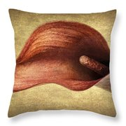 Calla Canvas Throw Pillow