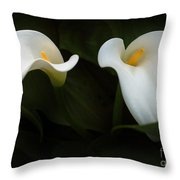 Calla Duo Throw Pillow