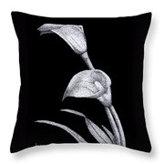 Calla Throw Pillow