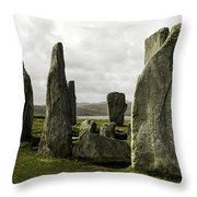 Callanish Stones Throw Pillow