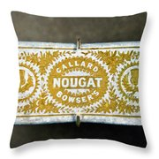 Callard And Bowser's Nougat Throw Pillow
