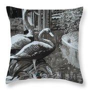 Callaway Mallard Ducks Throw Pillow