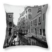 Calle A Venezia Throw Pillow