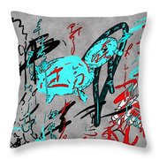 Calligraphy 01 Throw Pillow