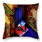 Calligraphy 102 1 1 Throw Pillow