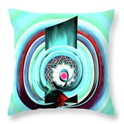 Calligraphy 104 4 Throw Pillow