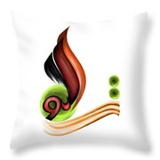 Calligraphy 109 2 Throw Pillow